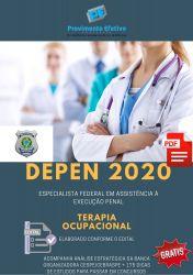 Apostila DEPEN Terapia Ocupacional Especialista em Execução Penal 2020