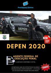 Apostila DEPEN AGENTE FEDERAL de EXECUÇÃO PENAL 2020