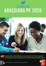 Apostila Técnico Enfermagem Prefeitura Araçoiaba 2020