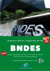 APOSTILA BNDES ENGENHARIA