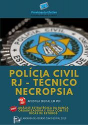 Apostila Polícia Civil RJ Técnico de Polícia Necropsia