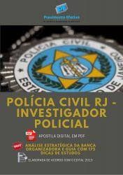 Apostila Polícia Civil RJ Investigador Policial