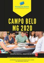 Apostila Psicólogo do SUAS Prefeitura Campo Belo 2020