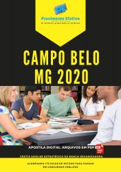 Apostila Agente Administrativo Prefeitura Campo Belo 2020