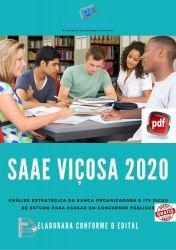 Apostila SAAE Viçosa Técnico em Química 2020