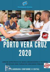 Apostila Prefeitura Porto Vera Cruz 2020 cargos Nível Fundamental