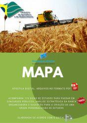 Apostila MAPA 2014 - GEÓGRAFO