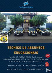 Apostila PRF - TÉCNICO em ASSUNTOS EDUCACIONAIS - Polícia Rodoviária Federal
