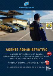 Apostila PRF AGENTE ADMINISTRATIVO Polícia Rodoviária Federal