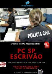 APOSTILA POLICIA CIVIL SP ESCRIVÃO DE POLÍCIA