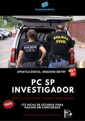 APOSTILA POLICIA CIVIL SP Investigador de Polícia