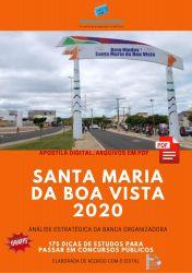 Apostila Prefeitura Santa Maria da Boa Vista 2020 cargos Nível Médio