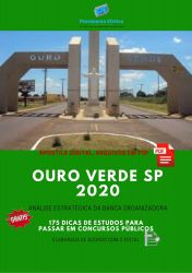 Apostila Prefeitura Ouro Verde 2020 cargos Nível Superior