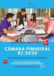 Apostila Cãmara Pinheiral 2020 cargos Nível Fundamental