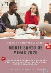 Apostila Prefeitura Monte Santo de Minas - Nível Médio 2020