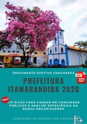 Apostila Prefeitura Itamarandiba 2020 Nível Superior