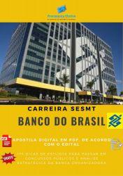 Apostila Banco do Brasil 2014 - Enfermeiro do Trabalho.