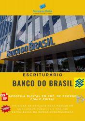 APOSTILA ESCRITURÁRIO BANCO DO BRASIL 2018