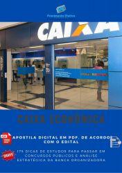 Apostila Caixa Econômica 2014 - Tecnologia Informação - Técnico Bancário