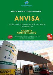 Apostila Concurso ANVISA Analista Administrativo ÁREA 3