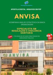 Apostila Concurso ANVISA Especialista em Regulação ÁREA 2