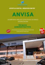 Apostila Concurso ANVISA TÉCNICO ADMINISTRATIVO
