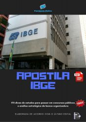Apostila IBGE Analista Engenharia Agronômica
