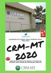Apostila CRM MT AUDITOR 2020 Analista Administrativo