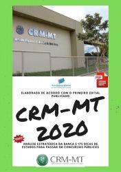 Apostila CRM MT Técnico Administrativo 2020