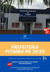 Apostila Fiscal de Tributos Prefeitura Pitimbu 2020