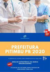 Apostila Auxiliar de Saúde Bucal Prefeitura Pitimbu 2020