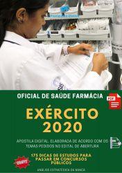 Apostila Exército Oficial de Saúde Farmácia 2020