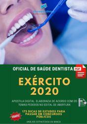 Apostila Exército Oficial de Saúde Dentista Endodontia 2020