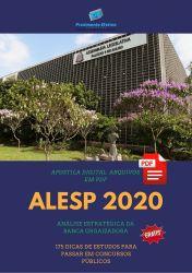 Apostila ALESP ANALISTA LEGISLATIVO 2020