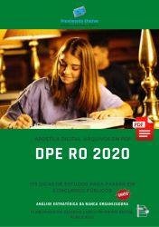 Apostila DPE RO Analista em Redação 2020