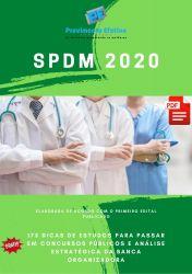 Apostila SPDM ASSISTENTE SOCIAL 2020