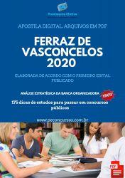 Apostila Guarda Municipal Ferraz de Vasconcelos 2020