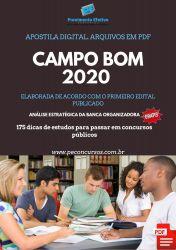 Apostila Guarda Municipal Campo Bom 2020