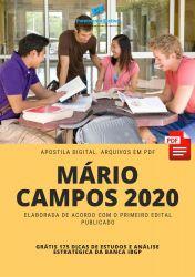 Apostila Mário Campos Fiscal de Obras - 2020