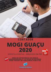 Apostila CONTADOR  MOGI GUAÇU - Câmara 2020