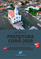 Apostila Codó - 2020 Nível Superior