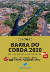 Apostila Barra do Corda - 2020 Nível Superior