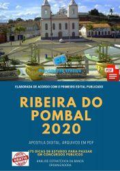 Apostila Ribeira do Pombal - NUTRICIONISTA 2020
