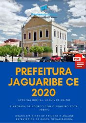 Apostila Jaguaribe Agente de Saúde e Endemias 2020