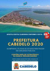 Apostila Cabedelo AGENTE COMUNITÁRIO - 2020
