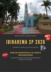 Apostila IBIRAREMA 2020 - Terapeuta Ocupacional