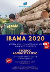 Apostila Técnico Administrativo - IBAMA 2020