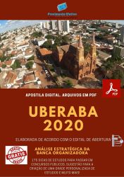 Apostila Agente de Combate as Endemias - Uberaba 2020