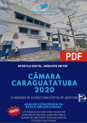 Apostila Agente Administrativo - Câmara Caraguatatuba 2020