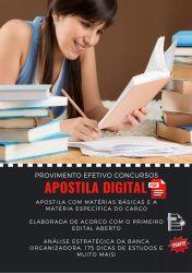 Apostila Psicólogo - Prefeitura Jaciara 2020